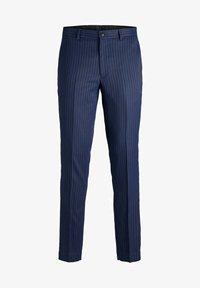 Jack & Jones PREMIUM - SUPER SLIM FIT - Suit trousers - dark navy - 4