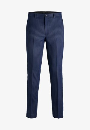 SUPER SLIM FIT - Suit trousers - dark navy