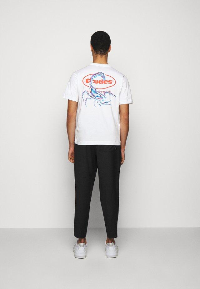 SCORPIO - T-shirt print - white