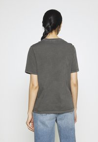 G-Star - REGULAR FIT TEE OVERDYED - T-shirts - raven - 2