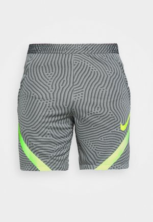 DRY STRIKE - Sports shorts - smoke grey/black/volt
