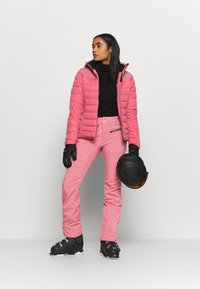 Brunotti - SILVERLAKE MELANGE WOMEN PANT - Snow pants - pink grape