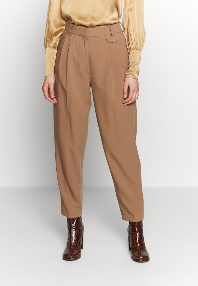 PANTS JADE  - Trousers - brown