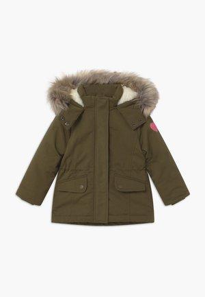 KID - Zimní kabát - khaki