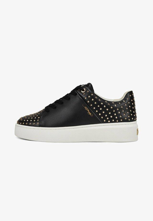 STUD-ED LOW TOP - Sneaker low - black