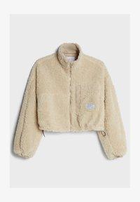 Bershka - Fleece jacket - stone - 4