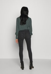 Topshop - JAMIE  - Jeans Skinny Fit - washed black - 2