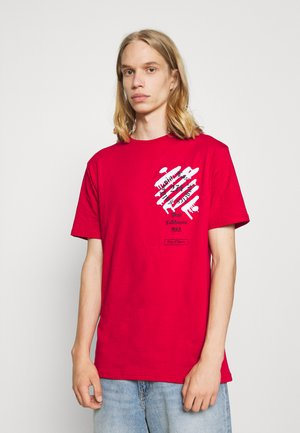 WEST TEE - T-shirt print - red