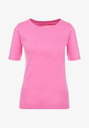 CREWNECK ELBOW SLEEVE - T-shirt basic - intense pink
