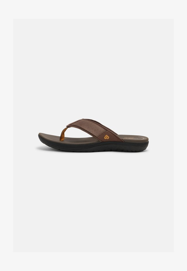 STEP BEAT DUNE - T-bar sandals - brown