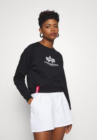 Alpha Industries - BOXY - Sweater - black - 0