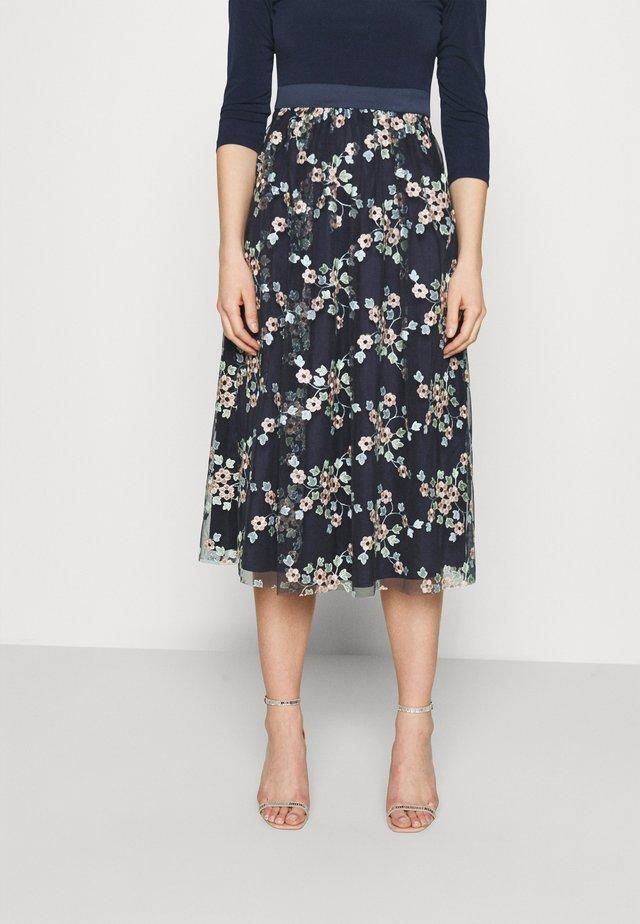 Suknia balowa - navy/multi