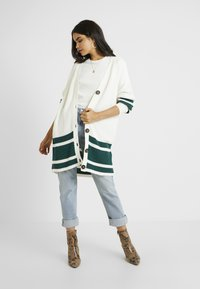 ONLY Tall - ONLVIONA CARDIGAN - Cardigan - cloud dancer/forrest biome - 1