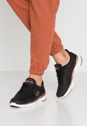 FLEX APPEAL 3.0 - Sneakers basse - black/rose gold