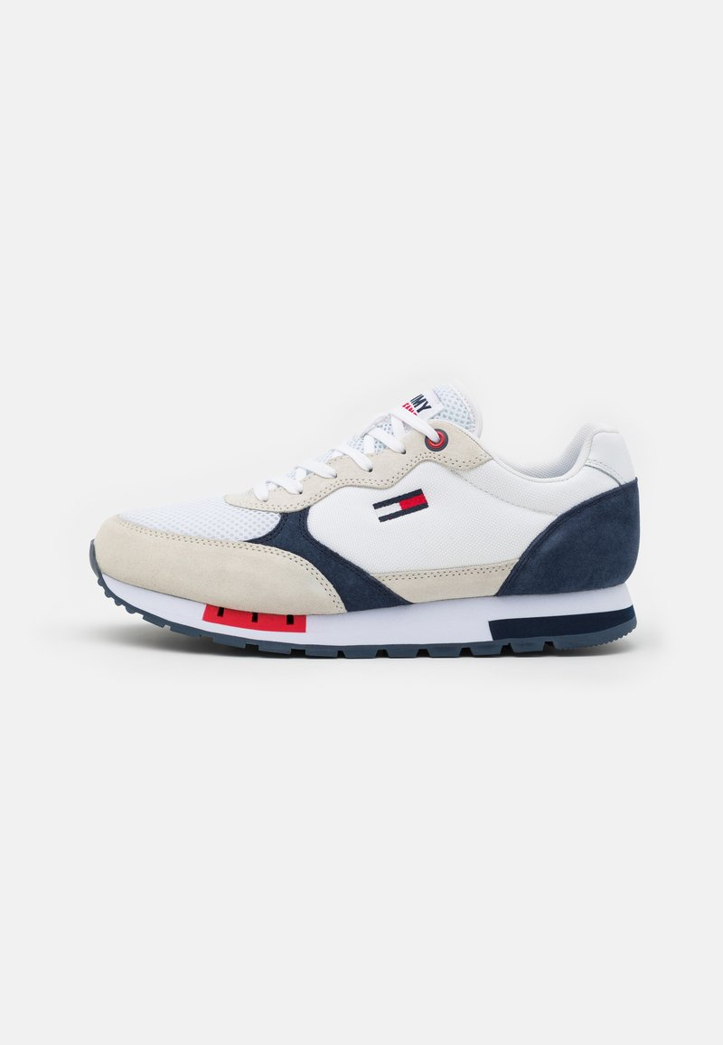 Tommy Jeans - RETRO RUNNER MIX - Sneakers basse - white