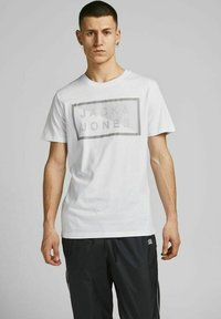Jack & Jones - 3 PACK - T-shirt print - navy blazer - 1