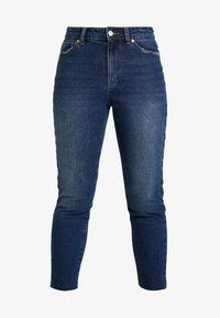 ONLY Petite - ONLEMILY - Jean droit - dark blue denim - 4