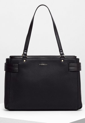 BRIE LARGE CASUAL GRAIN - Handtas - black
