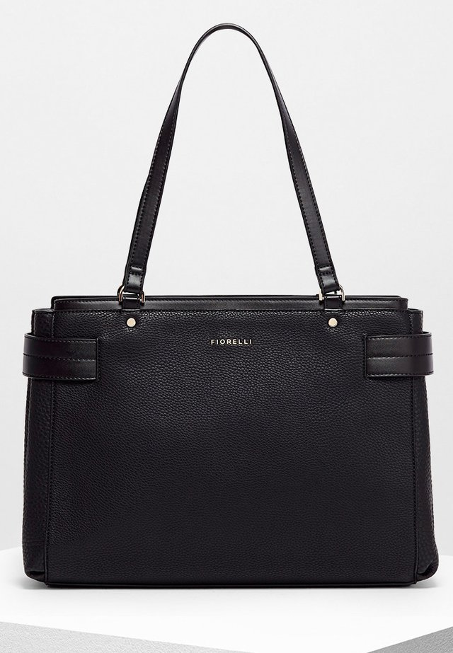 BRIE LARGE CASUAL GRAIN - Handbag - black