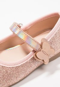 Friboo - Ballerina's met enkelbandjes - rose gold - 5