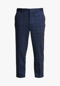 Selected Homme - SLHSLIMTAPERED NEWJERSEY CROP PANTS - Trousers - dark navy - 3