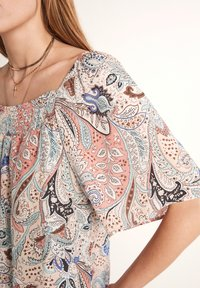 comma - Long sleeved top - salmon - 3