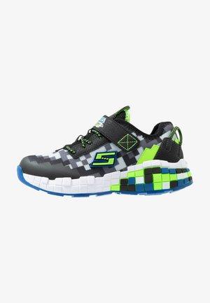 MEGA-CRAFT - Sneakers basse - black/blue/lime