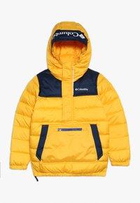 Columbia - WOODPORT PULLOVER JACKET - Zimní bunda - stinger/collegiate navy - 0