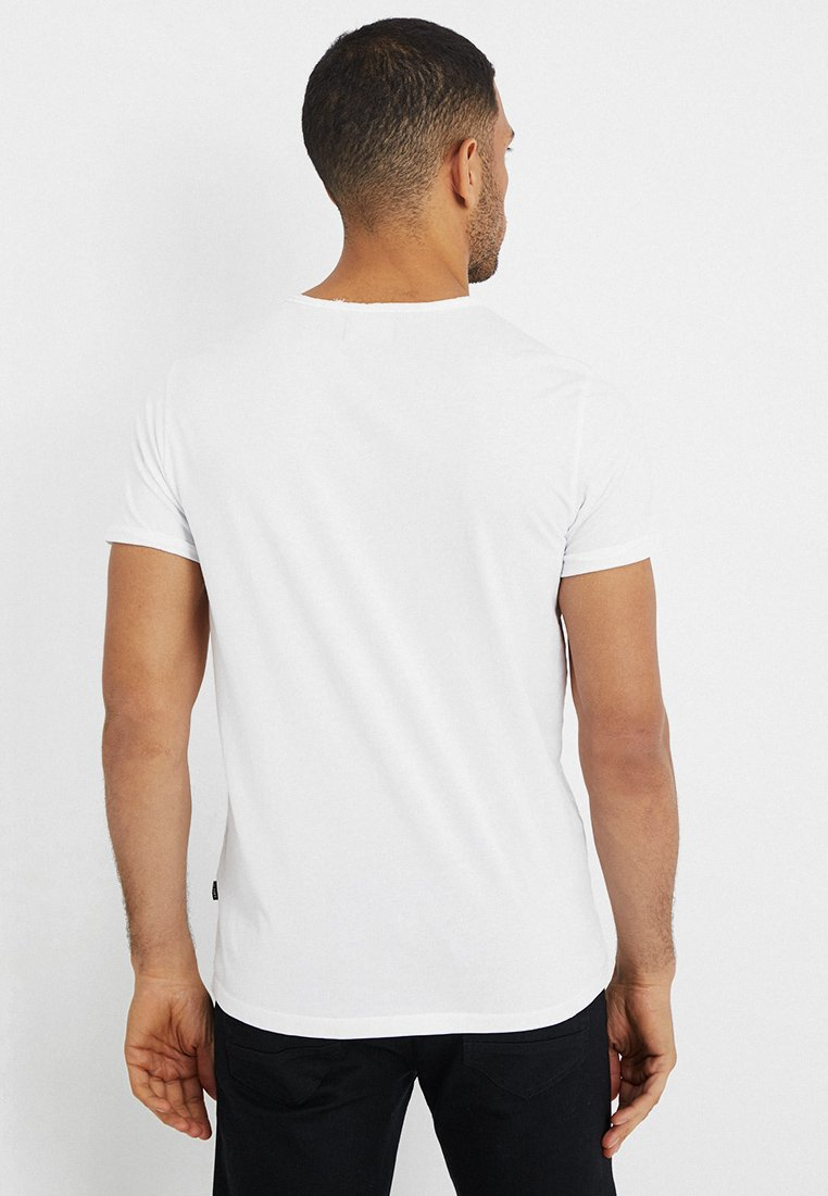 Cars Jeans HECTOR - Basic T-shirt - white zJUqr