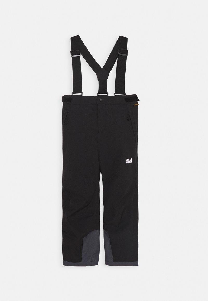 Jack Wolfskin - GREAT SNOW PANTS KIDS - Zimní kalhoty - black