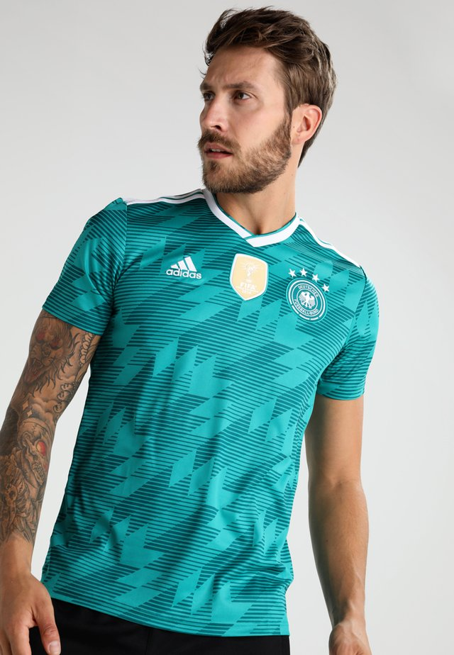 DFB DEUTSCHLAND AWAY - National team wear - eqt green/white