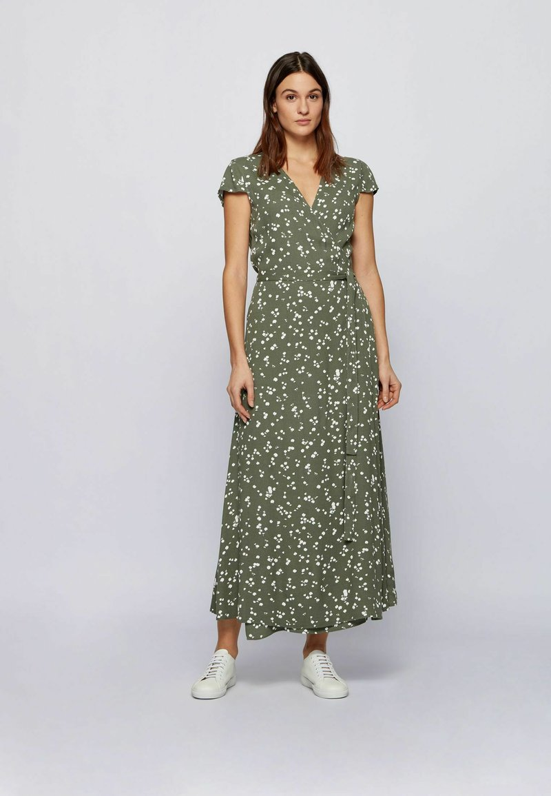 BOSS - DILEMMA - Maxi dress - olive