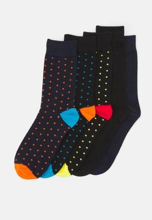 JACJOBBE SOCKS 5 PACK - Ponožky - black/navy blazer