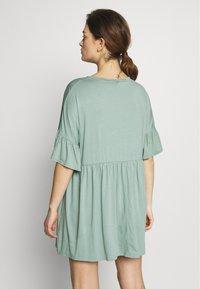 Missguided Maternity - MATERNITY FRILL SLEEVE SMOCK DRESS - Jersey dress - sage - 2
