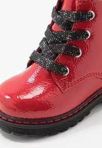 TOM TAILOR - Lace-up ankle boots - red - 2