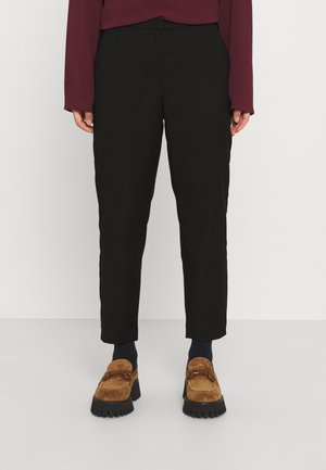 VMJANE TAP ANKLE SOLID PANT - Trousers - black solid