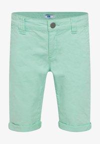 WE Fashion - WE FASHION JUNGEN-SLIM-FIT-CHINOSHORTS - Shorts - green - 0