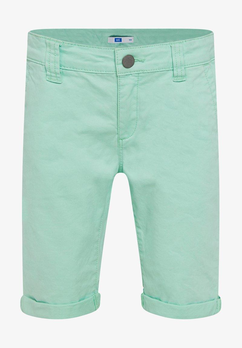 WE Fashion - WE FASHION JUNGEN-SLIM-FIT-CHINOSHORTS - Shorts - green