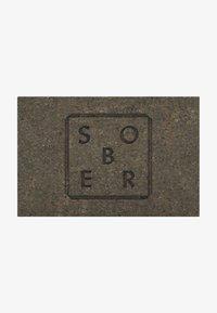 Sober - PEELINGSEIFE FACE & BODY SCRUB PEELINGSEIFE - Soap bar - grau - 0