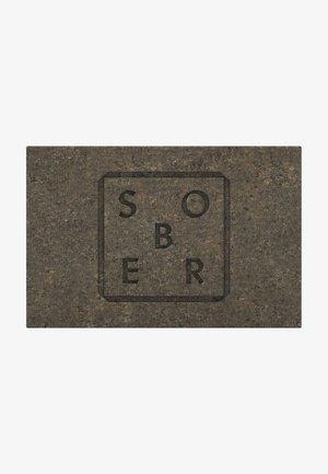 PEELINGSEIFE FACE & BODY SCRUB PEELINGSEIFE - Soap bar - grau