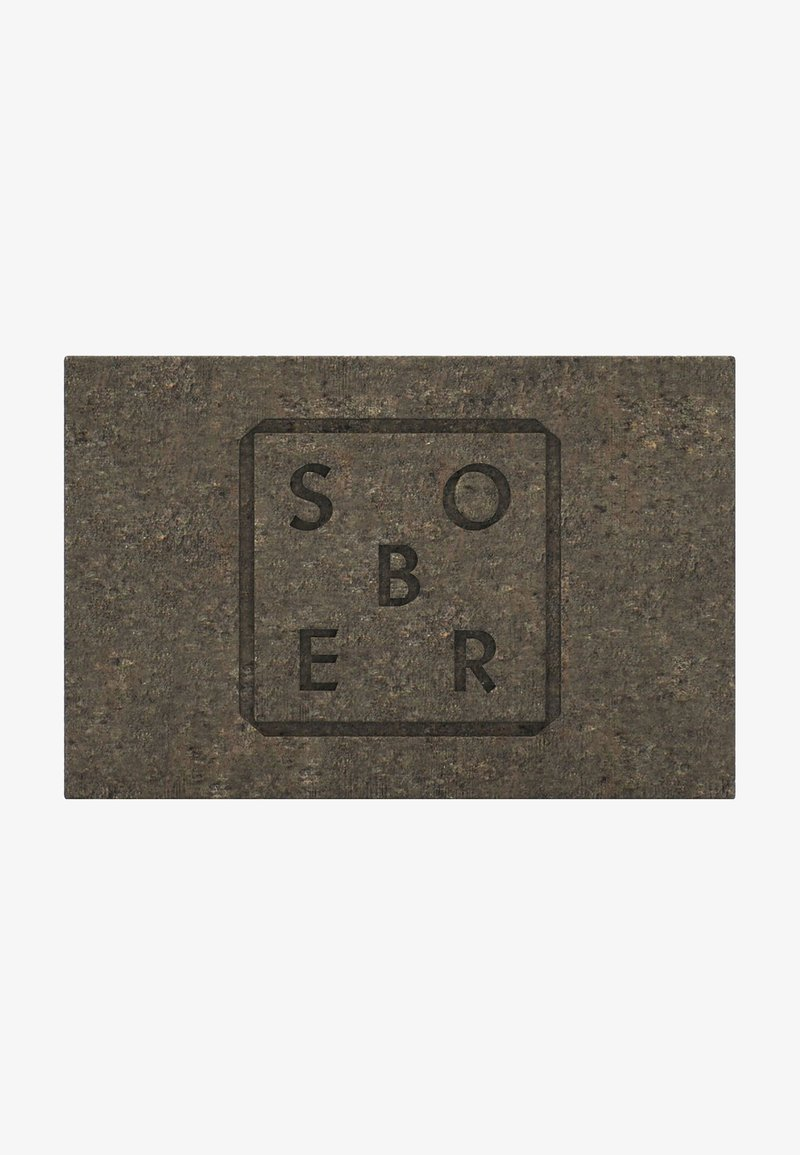 Sober - PEELINGSEIFE FACE & BODY SCRUB PEELINGSEIFE - Soap bar - grau