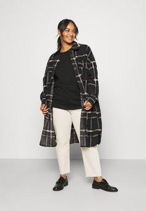 VMCHRISSIE LONG SHIRT - Summer jacket - dark grey melange