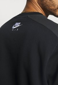 Nike Sportswear - AIR CREW - Sweatshirt - black/dk smoke grey/white - 3
