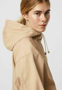 Vero Moda - Zip-up sweatshirt - beige mottled beige - 3
