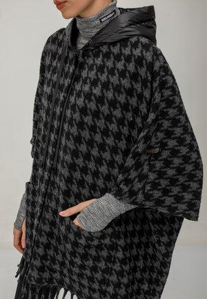 Cape - grau schwarz