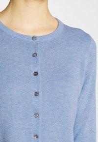 Repeat - Cardigan - med blue - 4