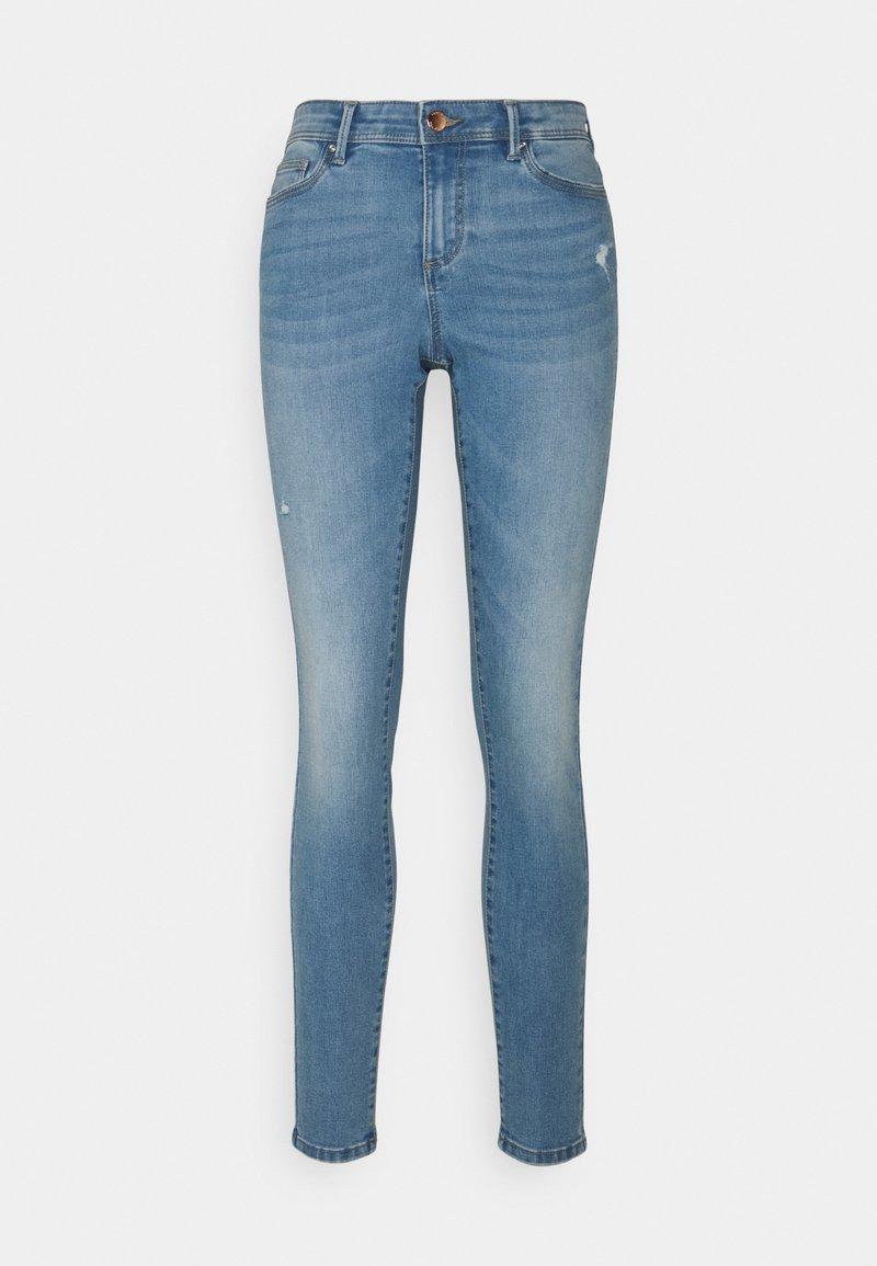 ONLY - ONLWAUW LIFE - Jeans Skinny Fit - light medium blue denim
