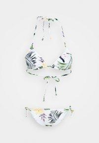 Roxy - TIKIT REGTS SET - Bikini - bright white/praslin - 4