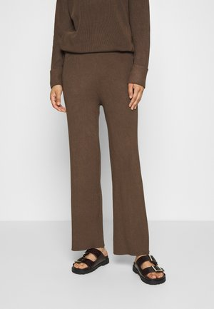 CELESTINA PANTS - Kangashousut - chocolate chip