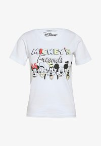 ONLY Petite - ONLDISNEY MIX - Camiseta estampada - white - 3